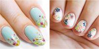 20 Flower Nail Art Design Ideas - Easy Floral Manicures ...