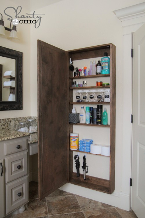 15 Small Bathroom Storage Ideas - Wall Storage Solutions and - small bathroom cabinet ideas