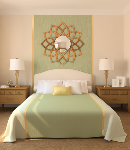 70+ Bedroom Decorating Ideas - How to Design a Master Bedroom - wall designs for bedroom