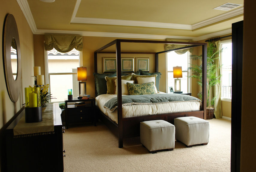 70+ Bedroom Decorating Ideas - How to Design a Master Bedroom - paint ideas for bedrooms