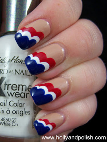 Patriotic Nail Art Inspiration For 4th Of July American