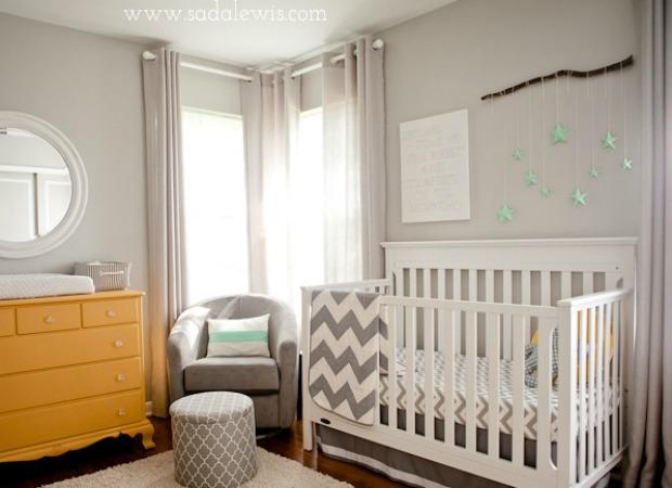 Gender Neutral Nursery Ideas - Unisex Nursery Color Ideas - unisex bedroom ideas
