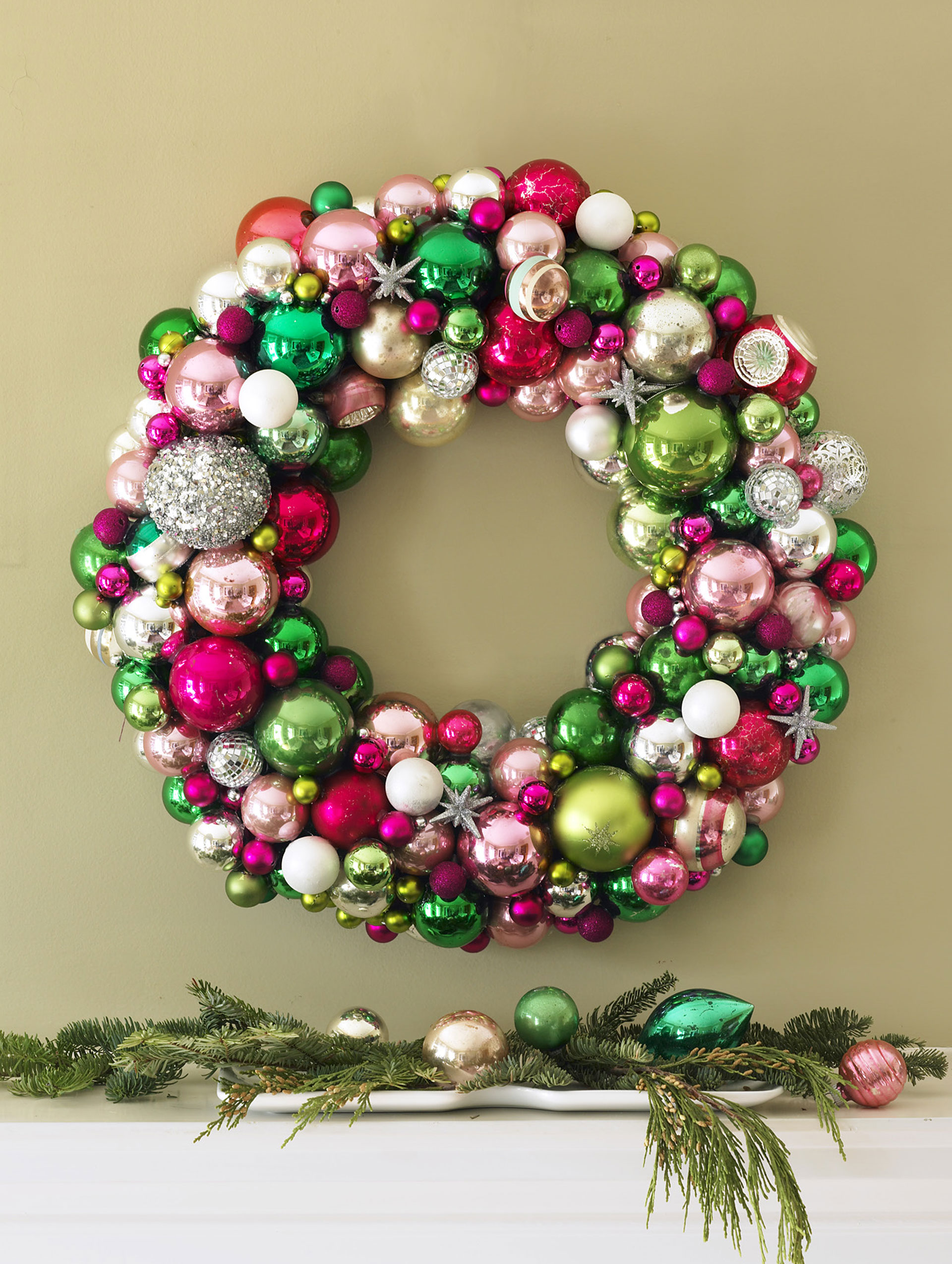 Weihnachtskranz Basteln 55 Diy Christmas Wreaths How To Make A Holiday Wreath Craft