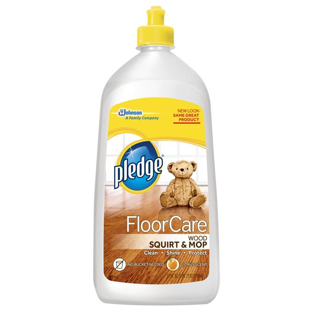 Pledge Floorcare Wood Squirt And Mop Review