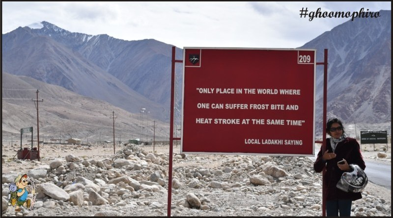 Gear up for a great experience amidst the natural beauty of Leh