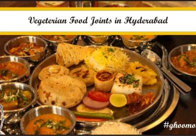 Vegetarian food joints in Hyderabad