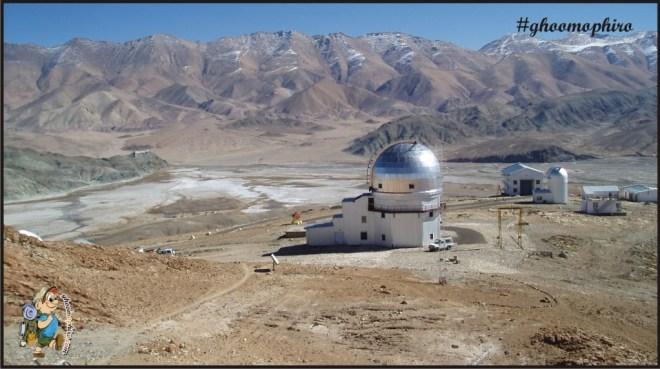 Indian Astronomical Observatory, Hanle