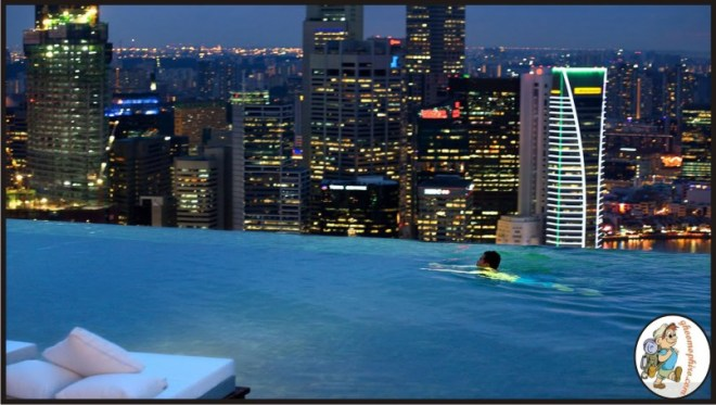 Sand's Skypark Infinite pool_Singapore