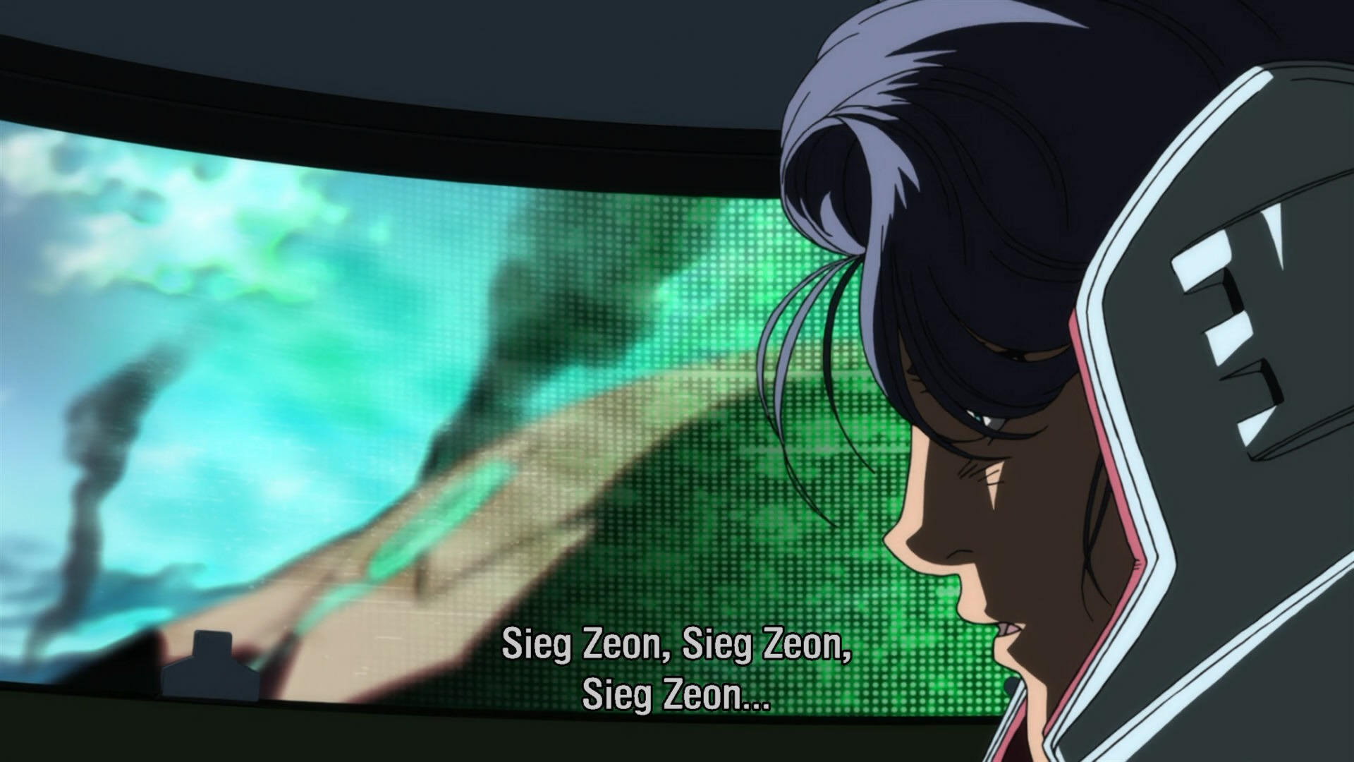 All Anime In One Wallpaper The Despair Of Zeon At The Bottom Of The Gravity Well