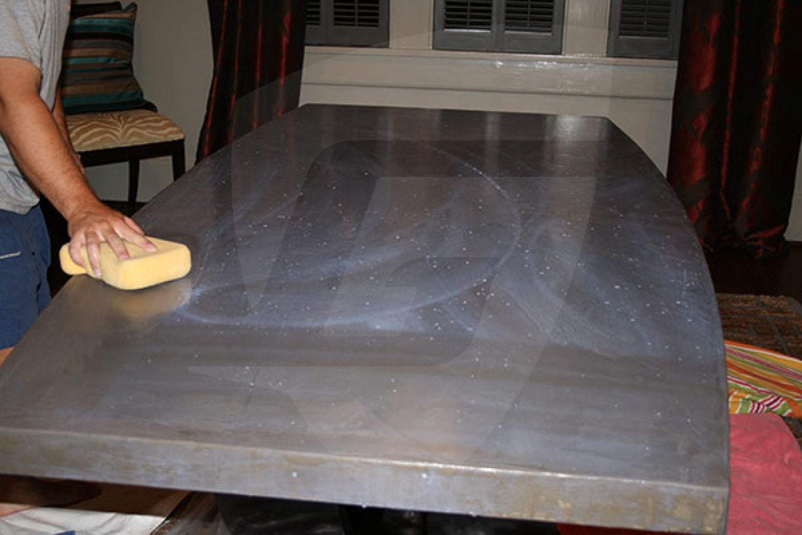 Concrete Countertop Reinforcement Ghostshield Countertop 660