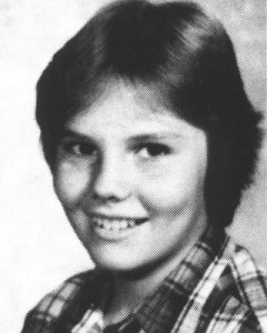 A young Billy Corgan
