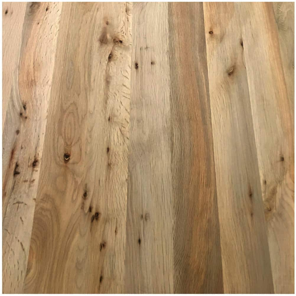 Oregon Tanoak Butcher Block Countertop Plank Unfinished Green Building Products Sustainable Materials Greenhome Solutions
