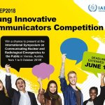 IAEA Young Innovative Communicators Competition 2018