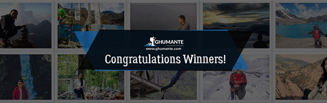 "Final Results, ""Ghumante Epic Selfie/Welfie/Selfshot Contest"""
