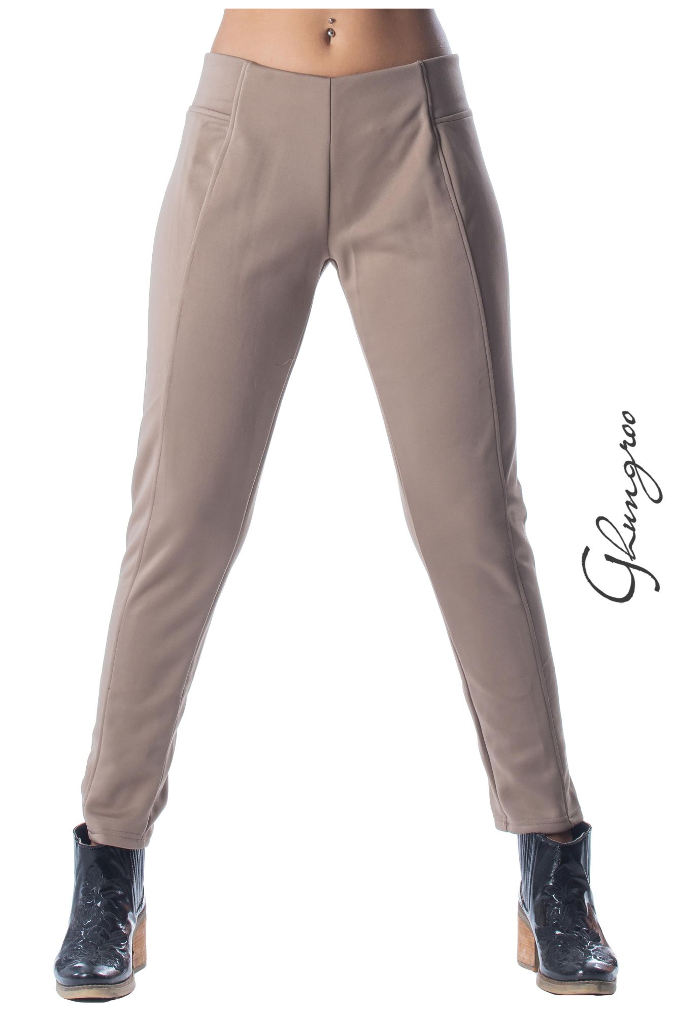 Guardaroba Abbigliamento Shop On Line Ghungroo Pantalone Basic Dalla Linea Dritta In Ghungroo