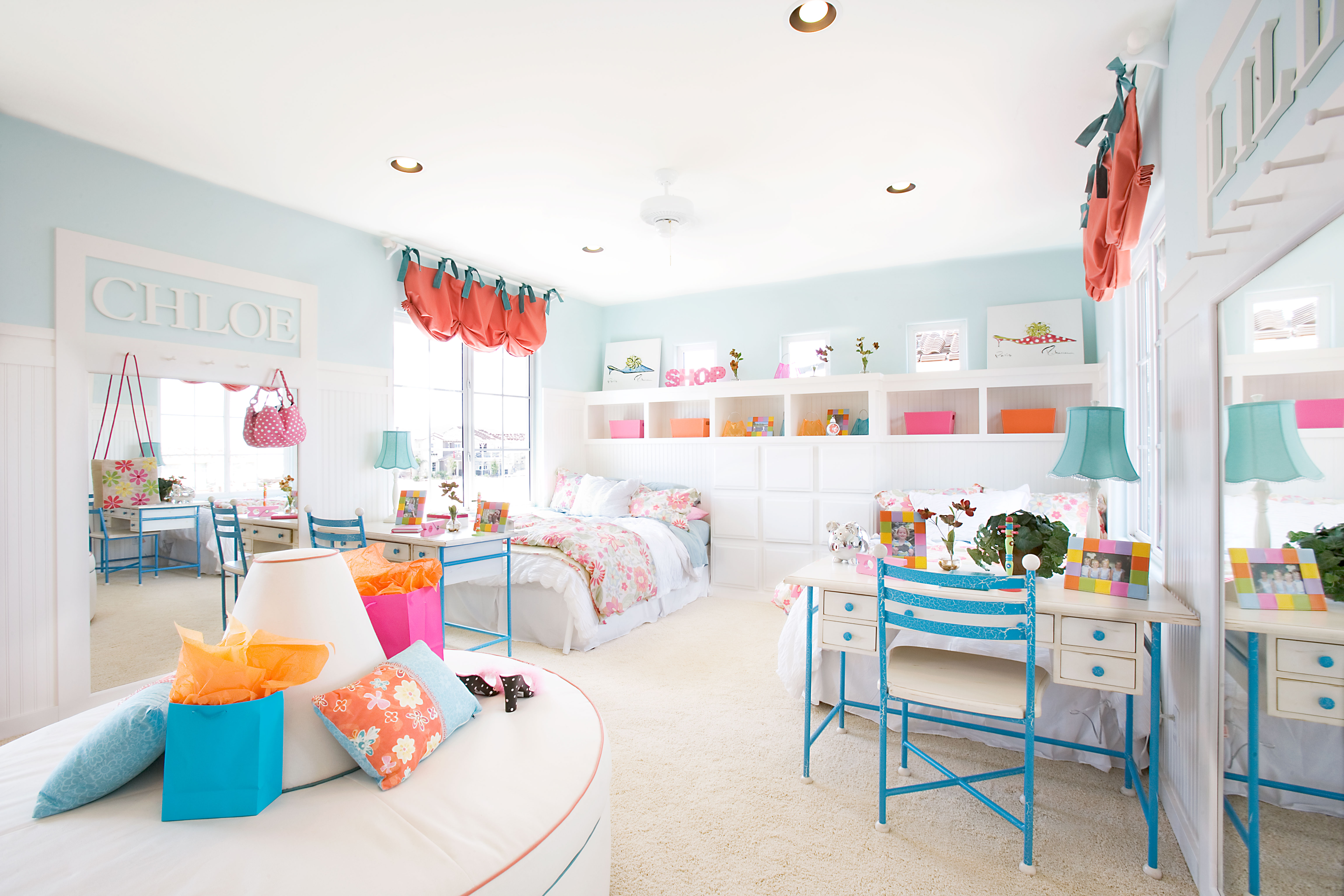 The Kidsroom Inspiration Bright Colored Bedrooms Live Learn And
