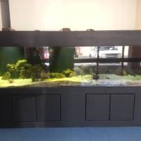8 foot aquarium for sale - ft Fish Tank Aquarium with Weir, 4 ft Multistage Sump Tank and