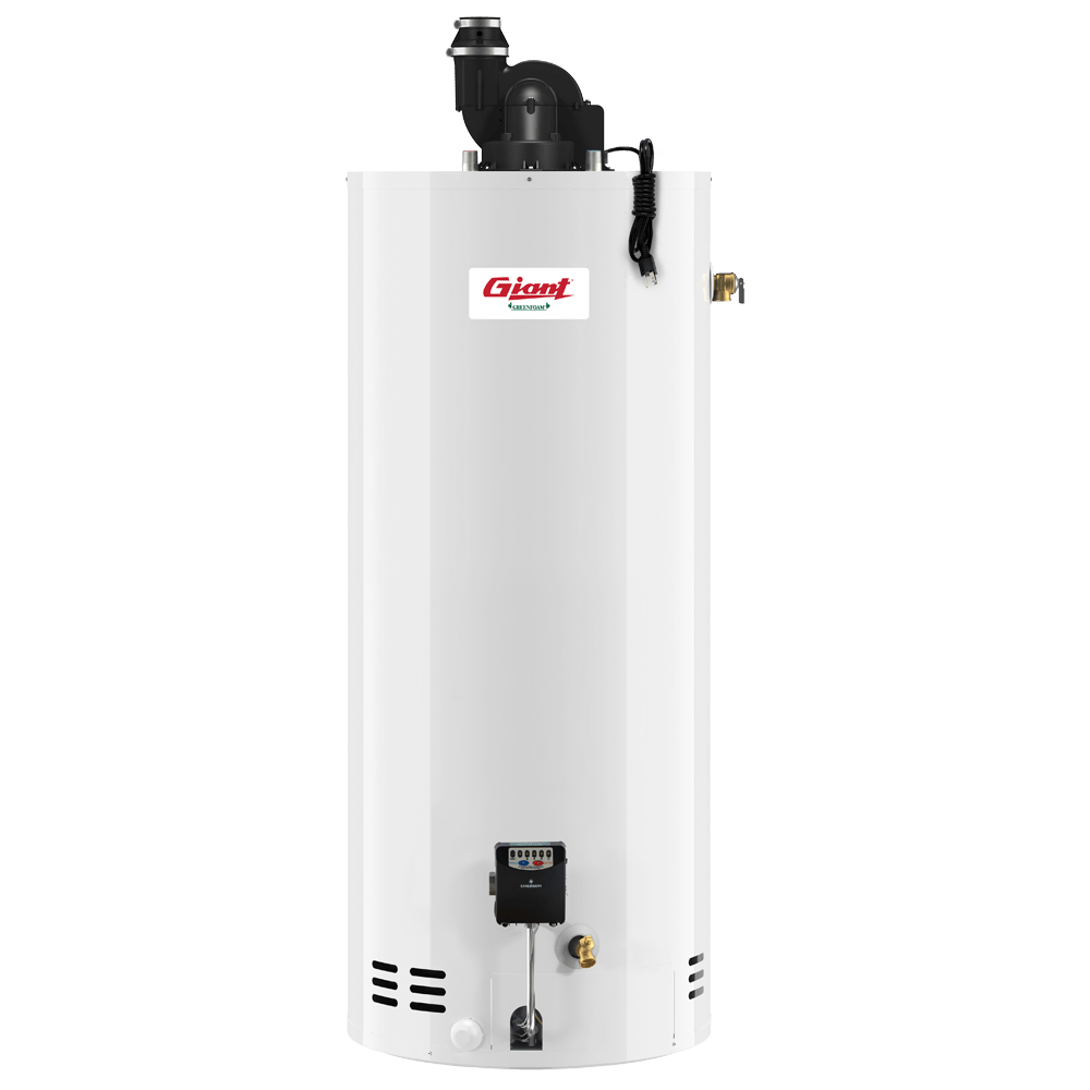 Residential Gas Fired Water Heater Power Vent 60 Us