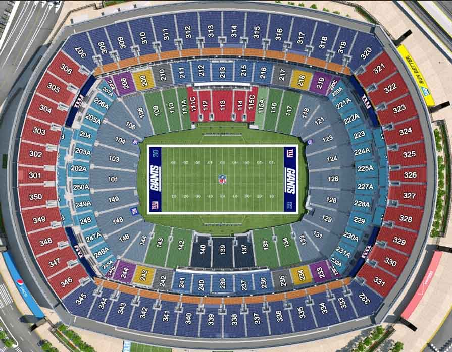 New York Giants Virtual Venue™ by IOMEDIA