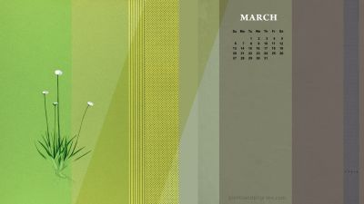 Giants & Pilgrims | March Free Calendar Desktop and iPhone Wallpaper