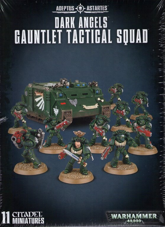 Pinsel Set Dark Angels Gauntlet Tactical Squad - Giant Warstore