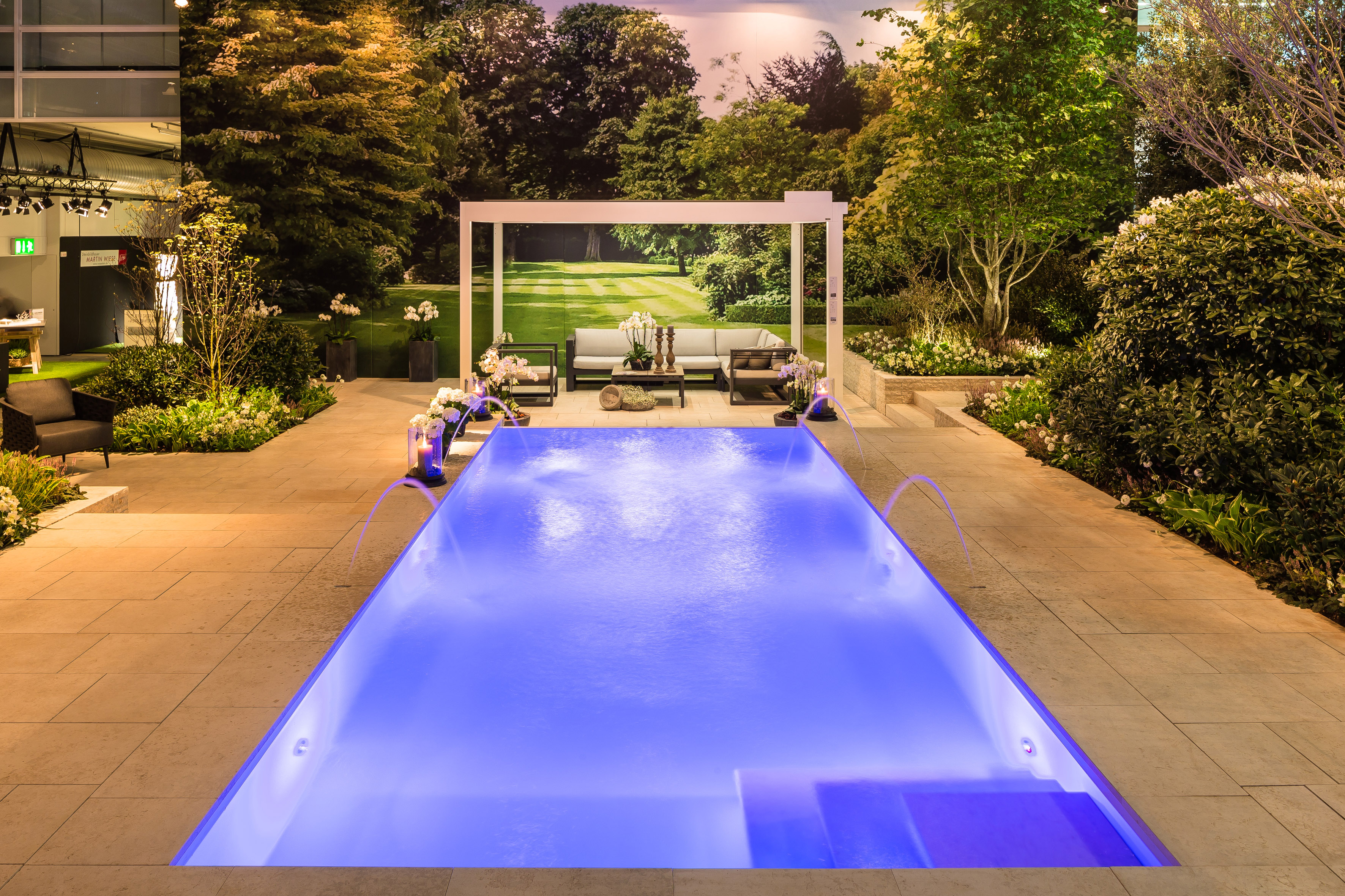 Pool Garten Hoch Gardens Up To 200m2 Giardina 11 To 15 March 2020