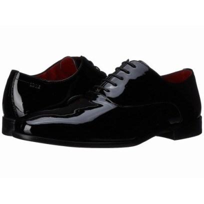 Giày oxford có dây da bóng