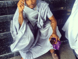 Check It Out!!! Wizkid Turns Into Alhaji (Photo)