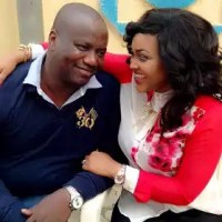 Mercy Aigbe's husband is 50 today...read her beautiful message to him