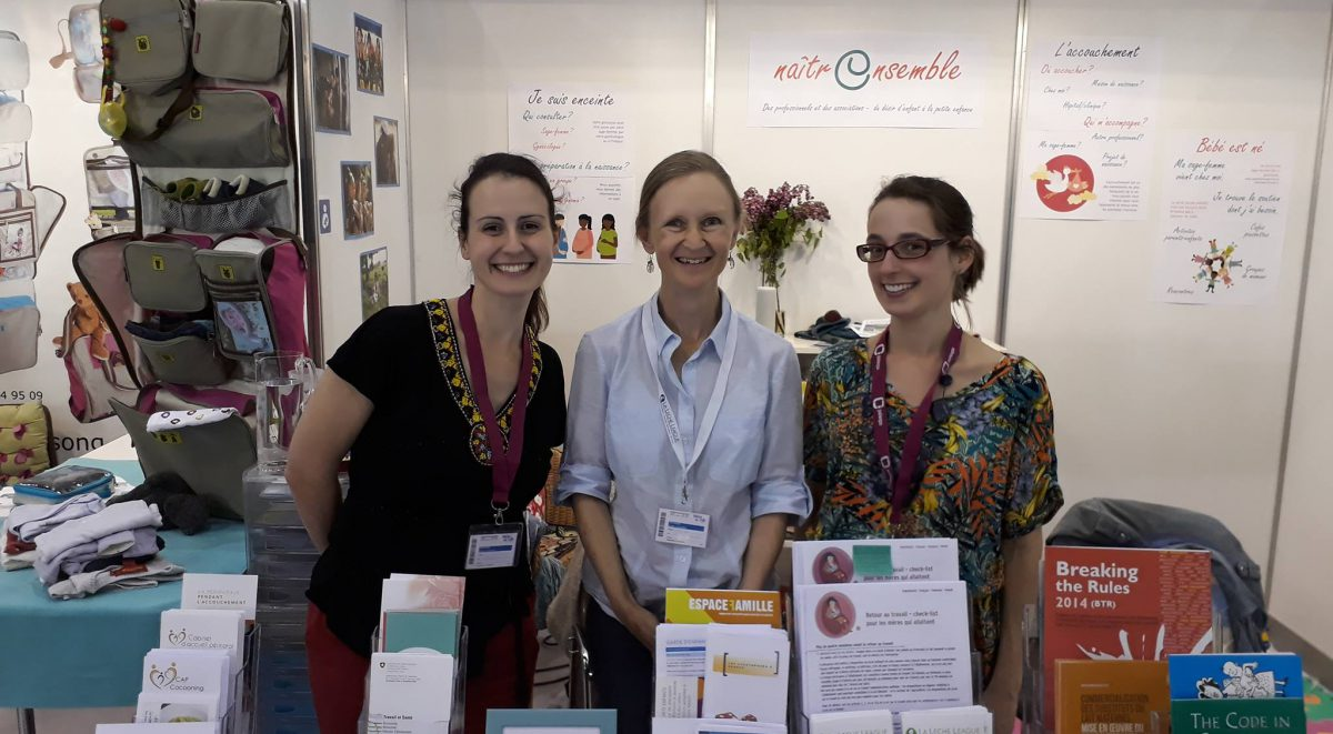 Le Salon Du Bébé Ibfan Gifa At The Salon Bébé Et Moi Gifa