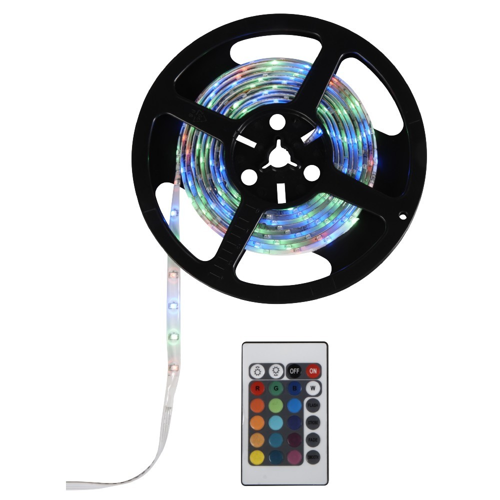 Bande Eclairage Led Interieur Ruban Led Multicolore Clignotant 3 M