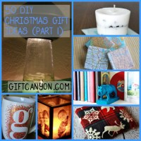 50 DIY Christmas Gift Ideas You Should Start Creating Now! (Part 1)