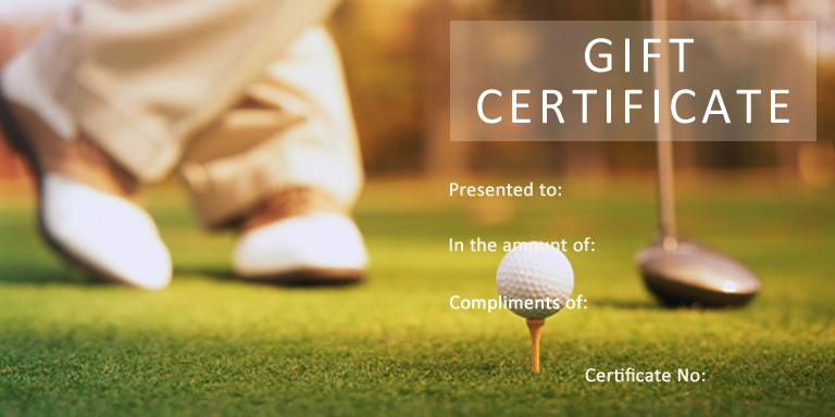 27 Gift Certificate Templates Gift Certificate Factory - free golf certificate templates for word