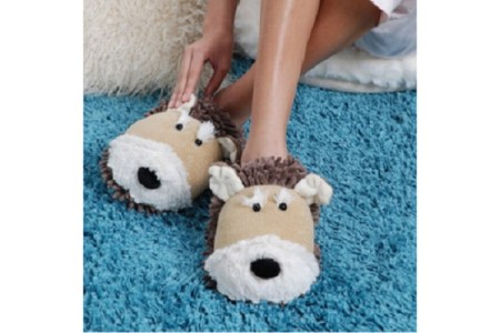 Fun Fuzzy Slippers for Women