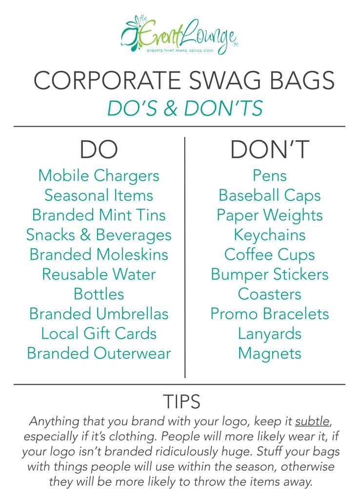 Best 25+ Swag bags ideas on Pinterest 14th birthday party ideas - event planner job description