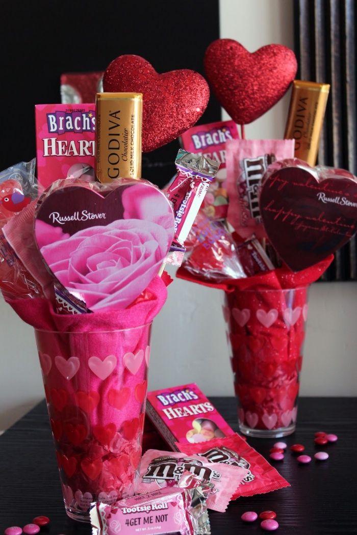 Valentines Day Gifts  Valentine Candy Bouquet - GiftsDetective - valentines day gifts