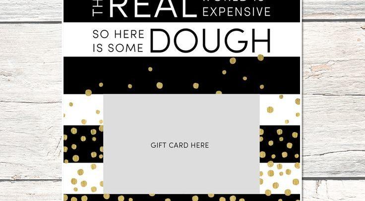 Graduation Gifts  FREE Graduation Gift Card Holder Print - just - print grad cards