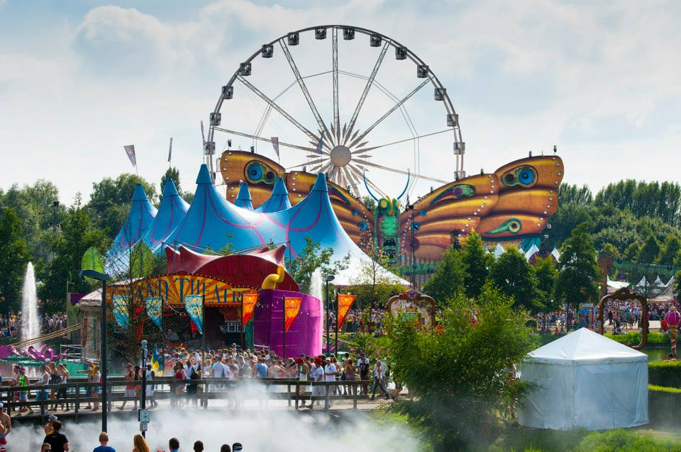 Welke Boom Is Dit Tomorrowland 2013 - Gigant Stage