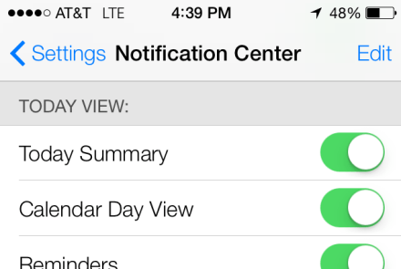 Apple snuck a Google Now-ish feature into iOS 7 called