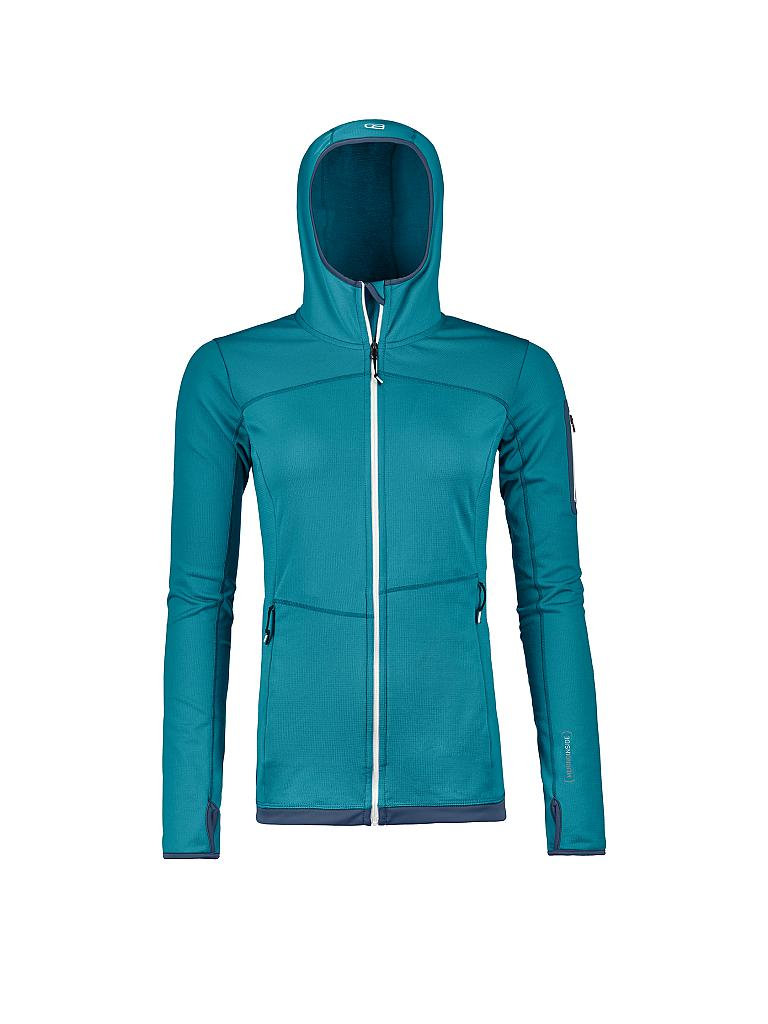 Fleece Light Hoody M Ortovox Damen Fleecejacke Light Hoody Türkis L