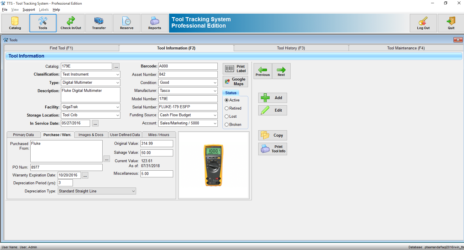 Freeware Banking Software Tool Tracking System Equipment Asset Tracking Software