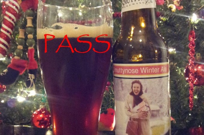 Malt Monday's Beer Review of the Week: Smuttynose Winter Ale