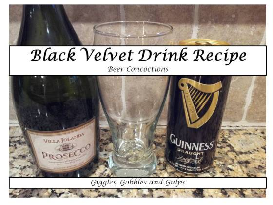 black velvet drink recipe