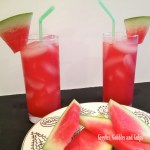 Easy Watermelon Agua Fresca