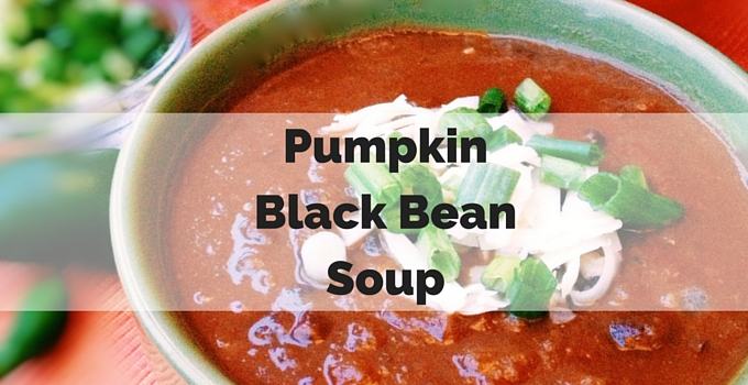Hearty Pumpkin Black Bean Soup