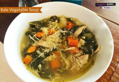 Chicken Kale Vegetable Soup