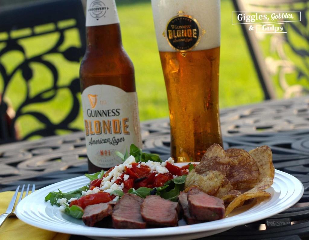 beer marinated flat iron steak4
