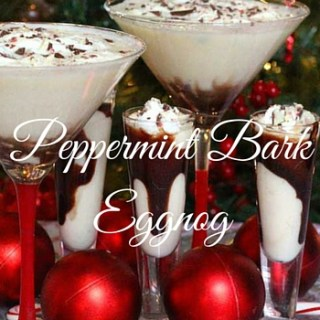 Peppermint Bark Eggnog