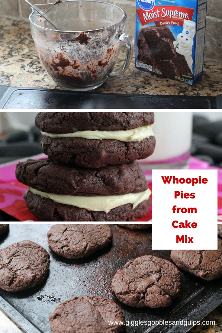 Apr 17, · Traditional whoopie pies were made with chocolate cake with a vanilla filling, but people have gotten really creative with Whoopie Pie recipes over the years. This Whoopie Pie recipe uses a yellow box cake mix that has been mixed with colorful sprinkles.5/5(1).