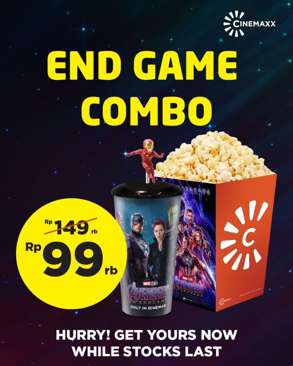 Cinemaxx Theater Promo Toppers Edisi Avengers Endgame Cuma - Cinemaxx Coupons